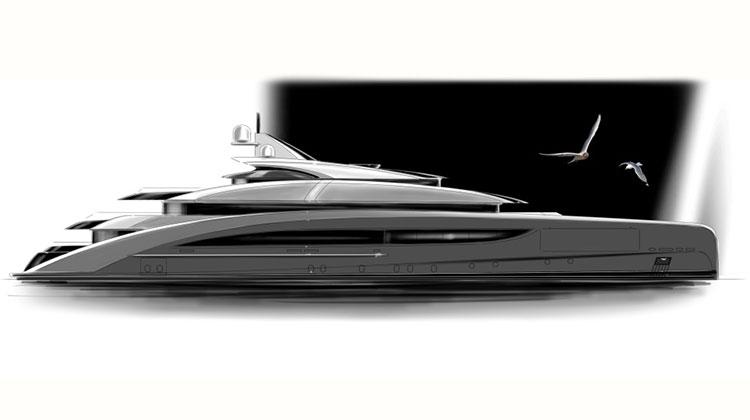 CRN построит 62-метровую супер-яхту от Nuvolari Lenard