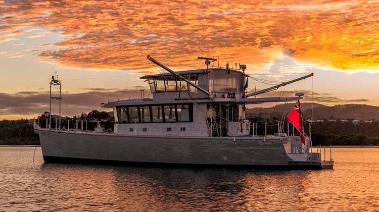 Circa Marine построила 26м яхту с запасом хода 7100 миль