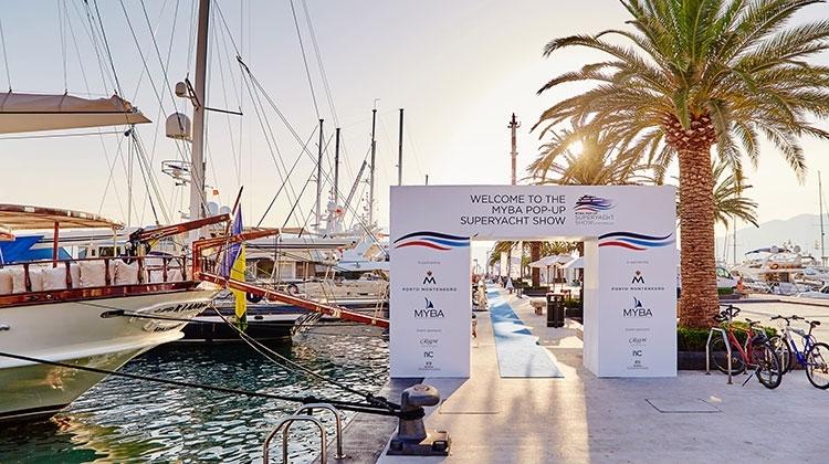 Porto Montenegro примет вторую выставку супер-яхт MYBA