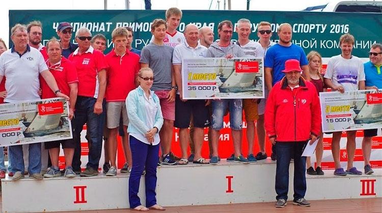 В Приморье прошел Чемпионат по парусному спорту