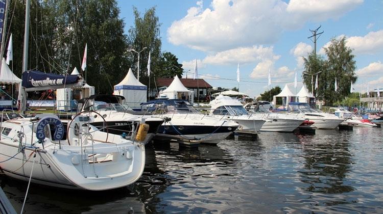 В Московской области прошла седьмая ярмарка яхт и катеров «Водный мир