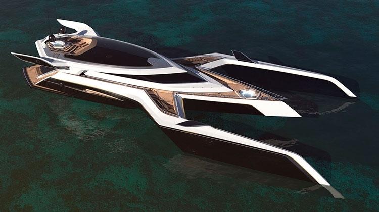 Яхта в стиле Star Wars