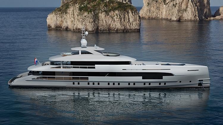 Heesen Yachts строит 50-метровую гибридную яхту Nova
