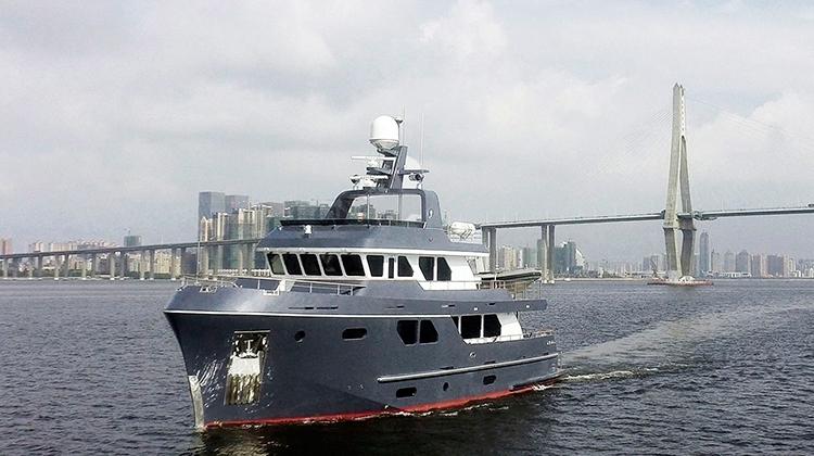 "Bering Yachts построила флагманскую яхту Bering 80 ""Veda"""