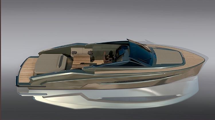 Kifaru представил новый футуристичный катер Suite 47