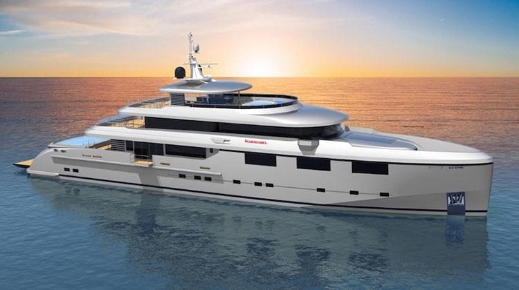 Heysea Yachts представила концепт 47-метровой яхты Heysea 152